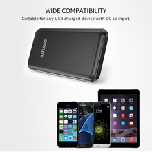 CHOETECH 5V 2.4A 10000mAh Power Bank For Xiaomi Dual Inputs Portable External Battery Charger for iPhone 6s 7 Tablets Powerbank