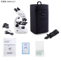 40X 1600X Magnification Biological Microscope Professional Scientific Laboratory Equipment Agricultural Medical Diagnostic Tools