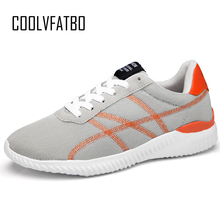 Купить с кэшбэком COOLVFATBO 2019 Men Casual Shoes Lightweight Breathable Flats Men Shoes footwear Zapatos Hombre Casual Shoes Men chaussure homme