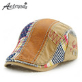 [AETRENDS] 2017 Spring Beret Hats for Men and Women Cotton Berets Retro Caps Z-3941