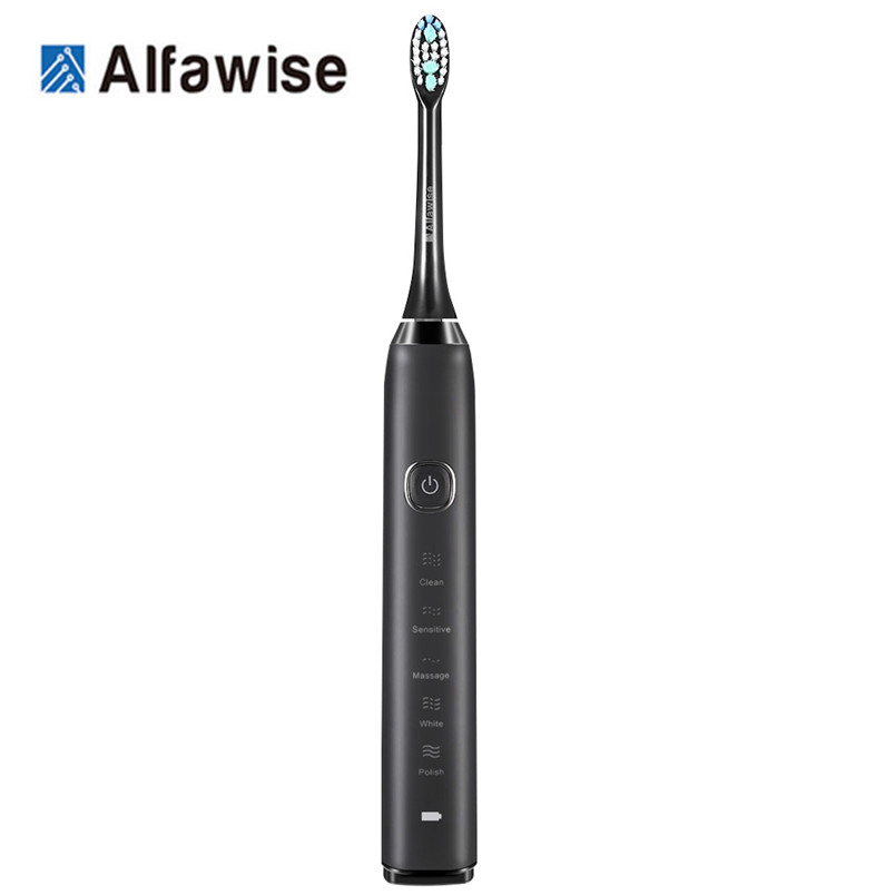 Alfawise S100 Sonic Electric Toothbrush Ultimate Cleaning Whitening Advanced Safeguard Oral Health Care Cleaning Tools  XJ
