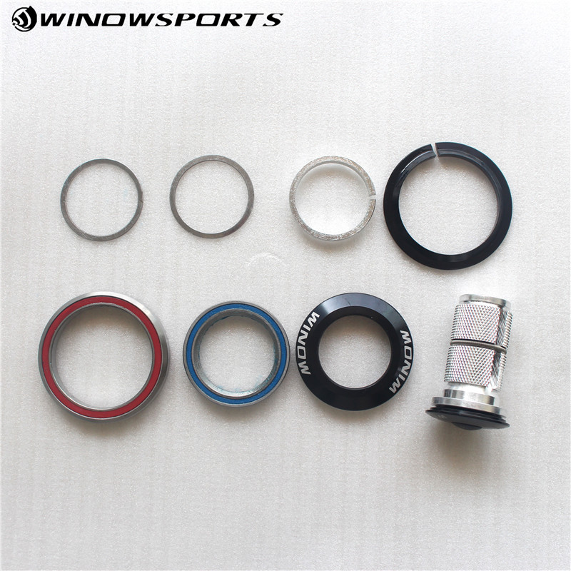 """Bike Headset Tapered bicycle headset 1-1/8""""-1-1/2"""" for Tapered Road/TT/MTB bicycle headset bike Available"""