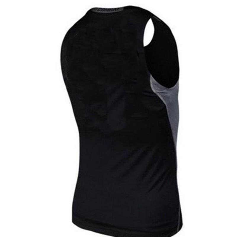 Männer Compression Enge Shirt Basis Schicht Junge Gym Übung Dünne Weste Tops S-xxl Outdoor Sportbekleidung Sport & Unterhaltung