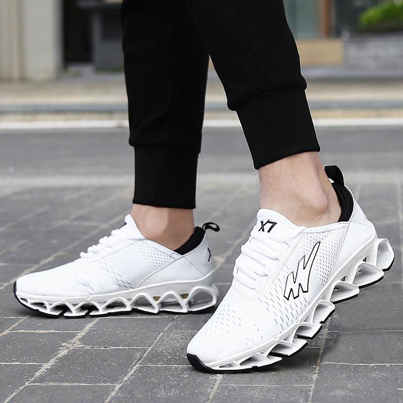 Big Size Outdoor Erkek Spor Ayakkabi White Sneakers Men Sport Shoes Male Running Shoes For Men Trainers Footwear Sports A-210