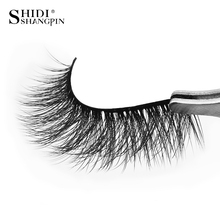 New 3 Pairs Long False Eyelashes Natural 3d Mink Lashes Makeup Hand Made Strip Fake Eyelash Extension Volume #x25