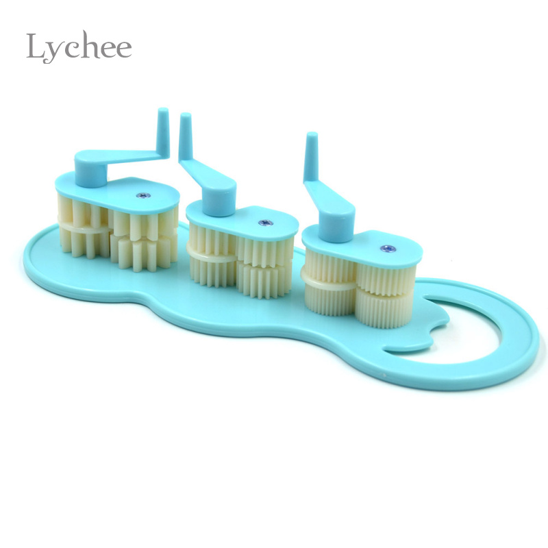 lychee art diy paper crafts tool quilling crimper tool plastic quilled creations craft handmade. Black Bedroom Furniture Sets. Home Design Ideas