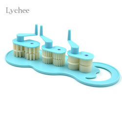 Lychee Art DIY Paper Crafts Tool Quilling Crimper Tool Plastic Quilled Creations Craft Handmade Paper Rolling Machine