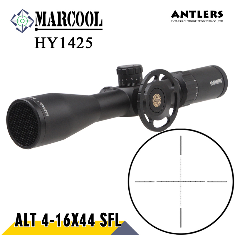 MARCOOL ALT 4-16X44 SF Hunting Riflesocpe Big Wheel Mil Dot Reticle Optical Sight Rifle Scope For Rifle And Pcp Airgun