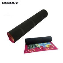 OCDAY 500/1000 ks Roll Play Mat pro skladování Flexibilní úspora místa Jigsaw puzzle Shromážděte puzzle hračky Deka pro děti