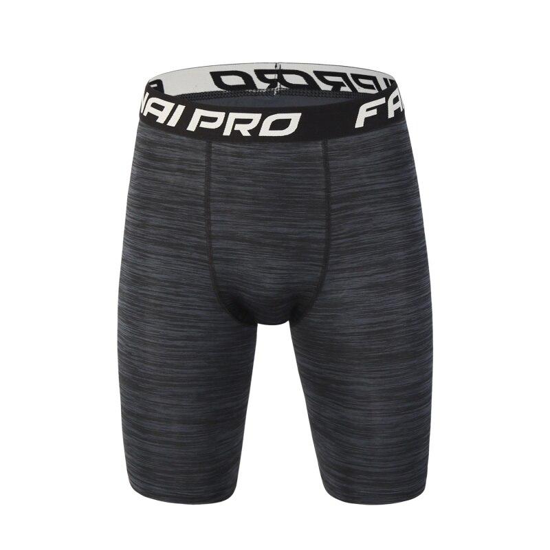Men Sport Compression Tight Short Pants Black Joggers Trousers Slim Fitness Running Shorts