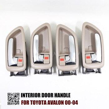 4PCS ONE SET INTERIOR DOOR HANDLE FOR TOYOTA AVALON RH:69205-AC010 LH:69206-AC010 1