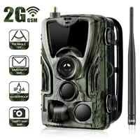 Cámara Suntekcam Trail de caza HC-801M 2G SMS MMS trampa de fotos juego de caza salvaje ciervo fantasma alimento caza cazuela explorador terma infrarrojo