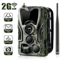 Suntekcam Hunting Trail Camera HC 801M 2G SMS MMS Photo Traps Wild hunter game ghost deer feed hunt Chasse scout infrared therma