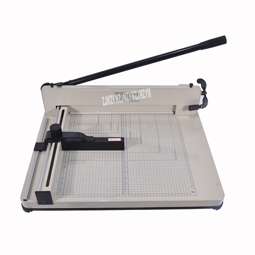Desktop Stack Paper Cutter Guillotine 858-A3 size paper Cutting Machine max width 40mm цена