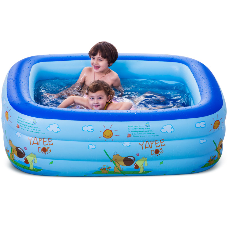 High Quality Thicker Version Deluxe Edition Baby Swimming Pool Large Swimming Pool Children's Play Game Pool at A Sale thicker deluxe high quality children baby swimming pool large inflatable swimming pool water playing pool c01
