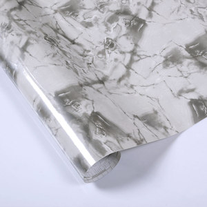 Image 4 - Thick marble pattern refurbished stickers pvc self adhesive wallpapers wall paper waterproof wall stickers countertop cabinet
