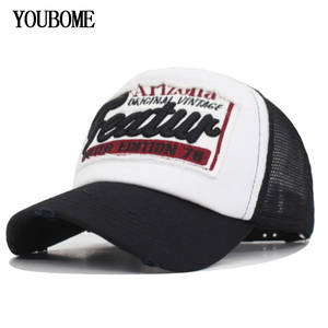 1ee247bf976 YOUBOME Brand Baseball Cap Women Snapback Caps Hats For Men Mesh Summer  Embroidery Casquette Bone Letter Feture MaLe Dad Cap Hat