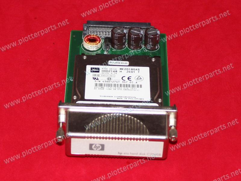 C6075-69005 C6075-60005 Hard Drive for fit HP DesignJet 1050C 1050CM 3.2 GB EIO used