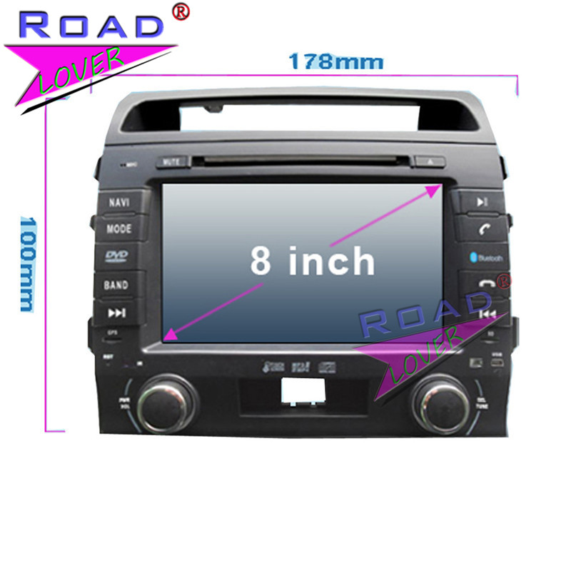 TOPNAVI Octa Core 4G+32GB Android 6.0 Car Media Center DVD Player For Toyota Land Cruiser LC200 2004- Stereo GPS Navi Audio MP3