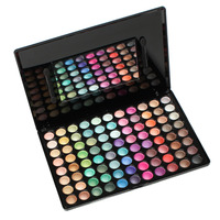 Make Up Eye Shadow Palette Cosmetic Box Multicolor Glitter Matte Mirror 23 0cm 9 X 16