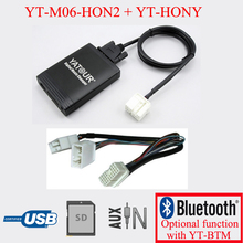 Yatour car stereo USB SD AUX MP3 interface for Acura Honda Accord radios with Navigation system
