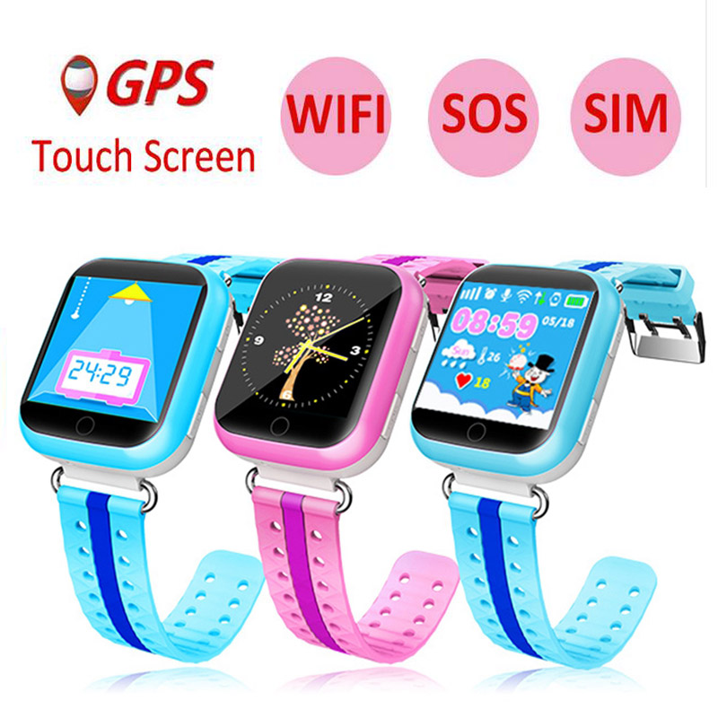 Q750 Children Smart Watch Top Functional WiFi GPS Watch SOS Call Touch Screen Device Tracker for Kid Baby Safe Anti-Lost Monitor gps e7 kids children baby smart watch sos call gps location touch screen device tracker kid safe anti lost monitor smartwatch