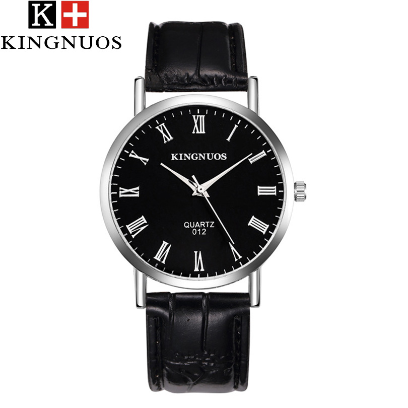 KINGNUOS Business Wrist Watch Men Watches Top Luxury Brand Famous Quarizt Wristwatches For Male Clock Hodinky Relogio Masculino kingnuos new quartz watch men watches top luxury brand male clock stainless steel wrist watch for men hodinky relogio masculino