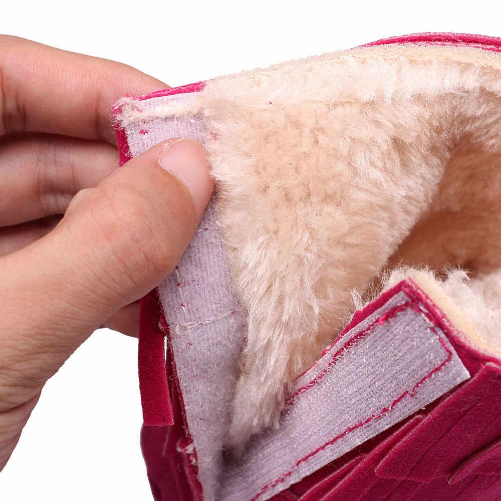 Теплые двухслойные кисточки мягкие зимние сапоги мягкие детский пинетки для младенцев Botts детская обувь для девочек 2019 meisjes schoenen #30