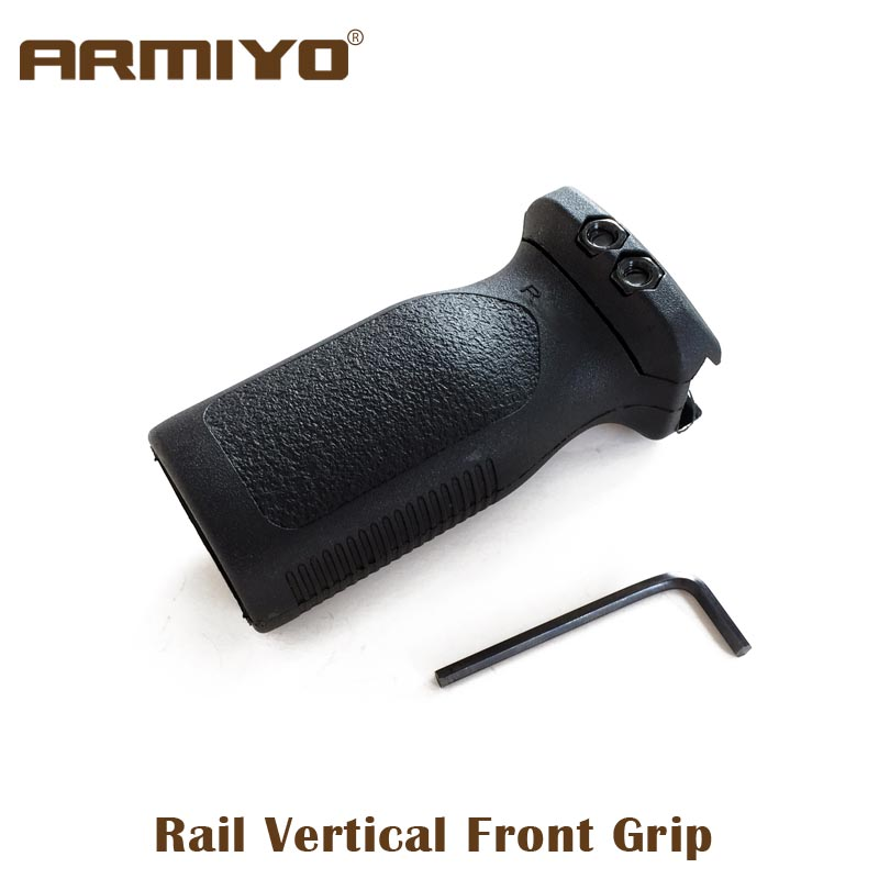 Armiyo Tactical Airsoft 20mm Rail m4 ar 15 Vertical Front Fore Grip Forward Rack Hunting Shooting Paintball Accessories рубашка fore axel
