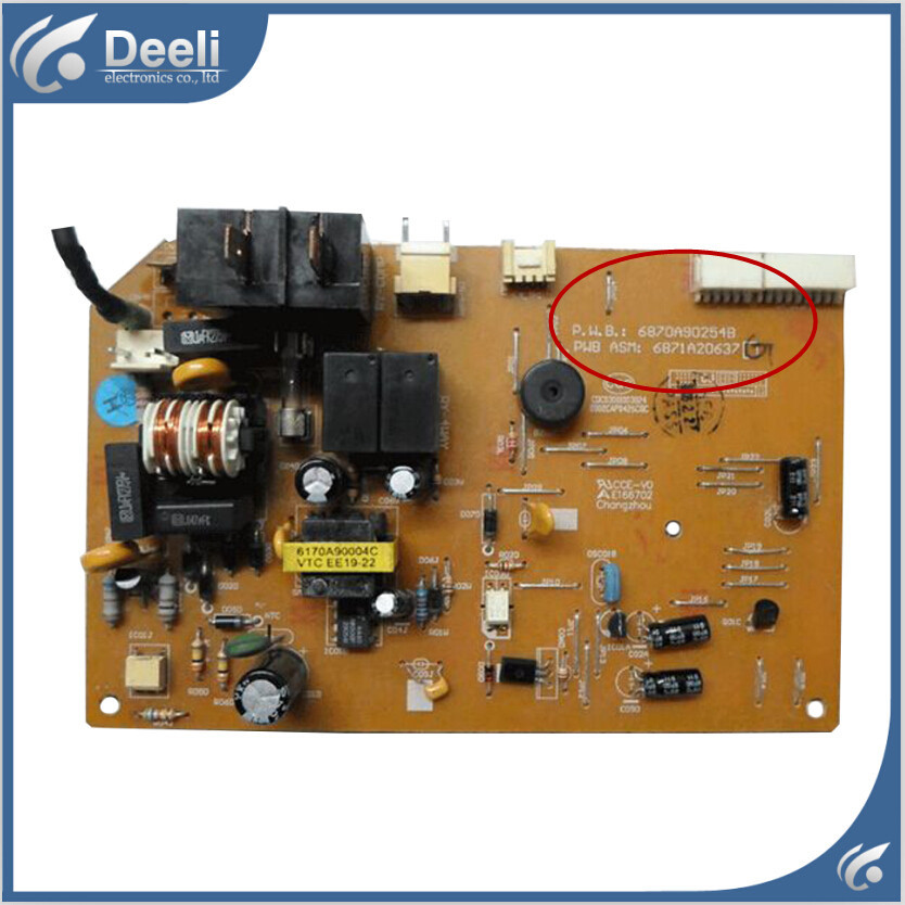 95% new good working for air conditioning Computer board 6870A90254B 6871A20591Q control board on sale original for air conditioning computer board control board gal0902gk 01 gal0403gk 0101 used good working