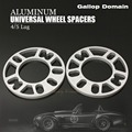 2PCS 10 MM ALLOY ALUMINUM WHEEL SPACERS SHIMS PLATE 4&5 STUD FIT FOR AUDI FREE SHIPPING Car-Styling