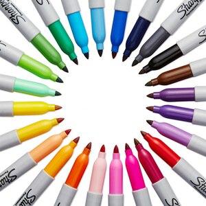 Image 5 - 24 Pcs/set New Arrival!!! Sanford Sharpie 31993 Eco friendly Fine Point 1MM Permanent Art Marker Pen