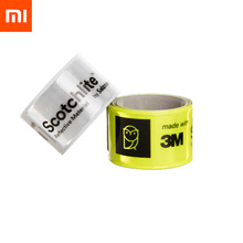 Xiaomi mijia miaomiaoce 38CM Night Reflective Wrist Band One Second Quick Wearing Automatic Flexible Fluorescent Light Strap