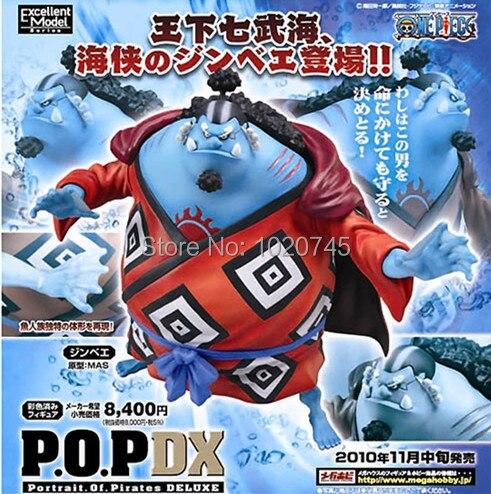 Portrait.Of.Pirates One Piece Series NEO-DX Jinbei Figure Japan Megahouse
