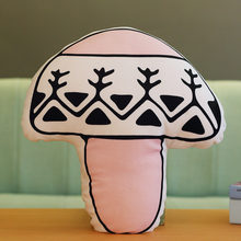 Plush Toys Nordic Pillow Cherry Strawberry Pineapple Mushroom Vase Butterfly Baby Bottle Room Decoration Food Cushion Soft Toy(China)