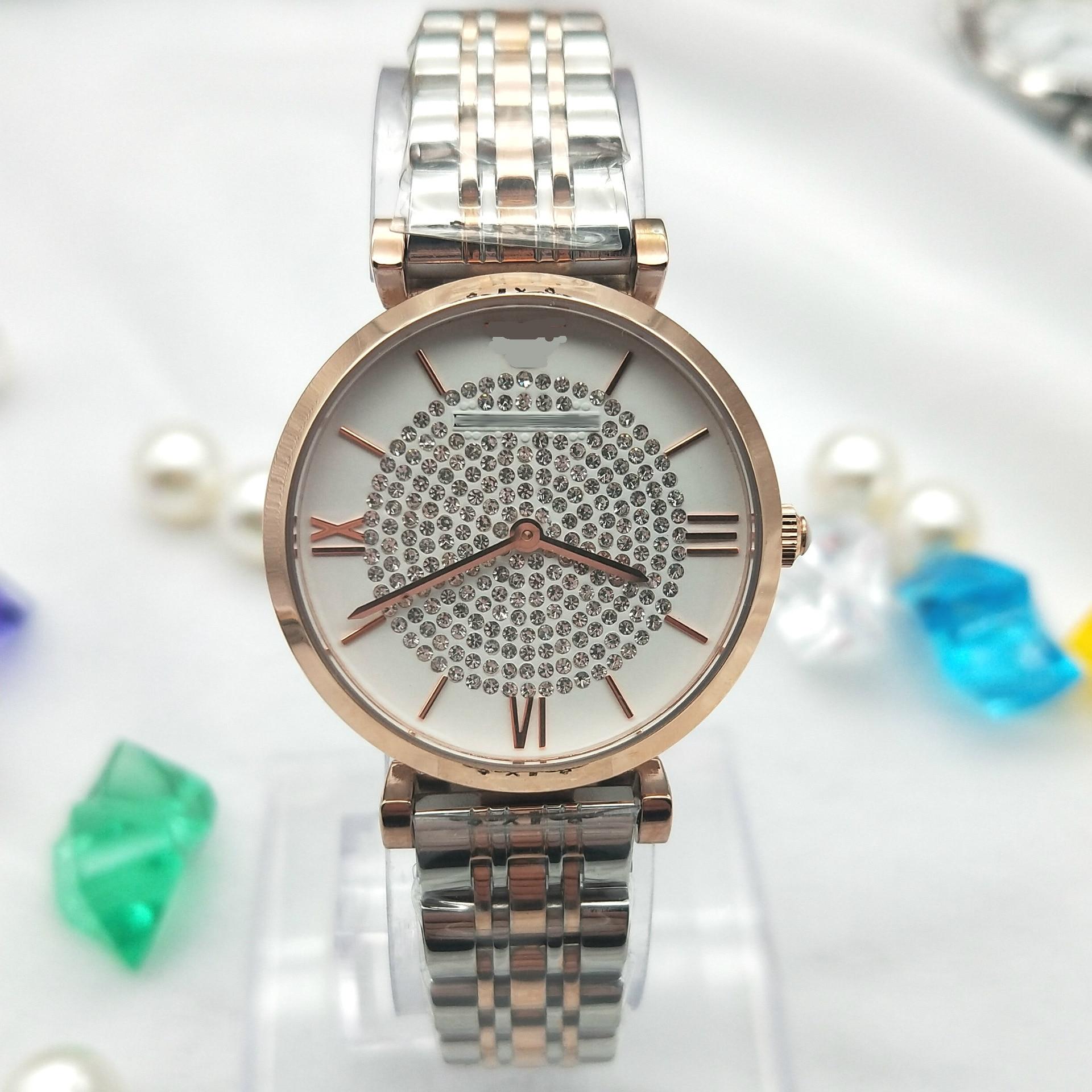 New stylish star-studded diamond watch high-grade waterproof ladies original quartz watchNew stylish star-studded diamond watch high-grade waterproof ladies original quartz watch
