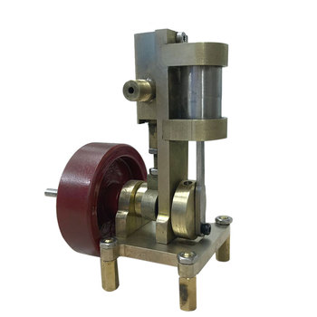 Mini Vertical-type Steam Engine Model Without Boiler