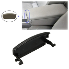 Newest Hot Black Plastic Armrest Lid Console Cover Latch Clip Catch for Car AUDI A4 B6