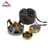High Quality Outdoor Picnic Stove New Mini Ultra Light Spirit Combustor Alcohol Stove Camping Furnace Camping