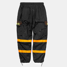 HFNF windbreaker pants night sports fluorescent loose male trousers 2019 street brand clothing mens sweatpants