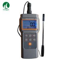 Az8905 fluxo combo  temp. & rh anemômetro anemômetro mini palhetas