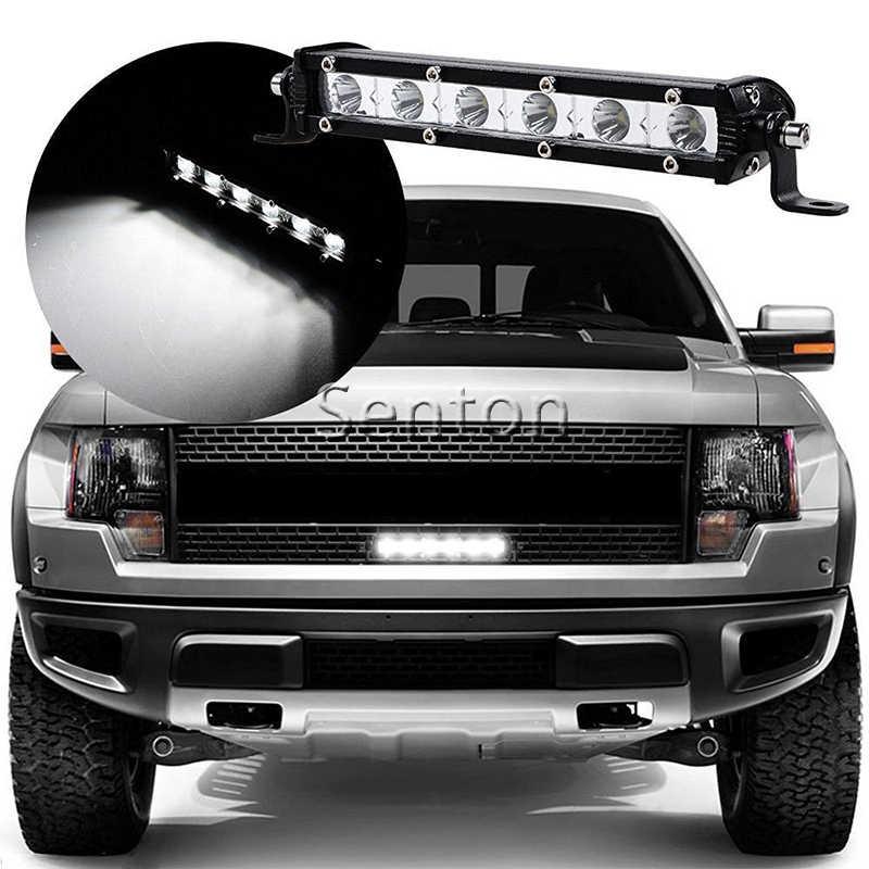 1X Автомобильный светодиодный осветительный брусок 12В противотуманная фара DRL для Toyota RAV4 Prado Highlander Subaru Forester XV Impreza Outback аксессуары