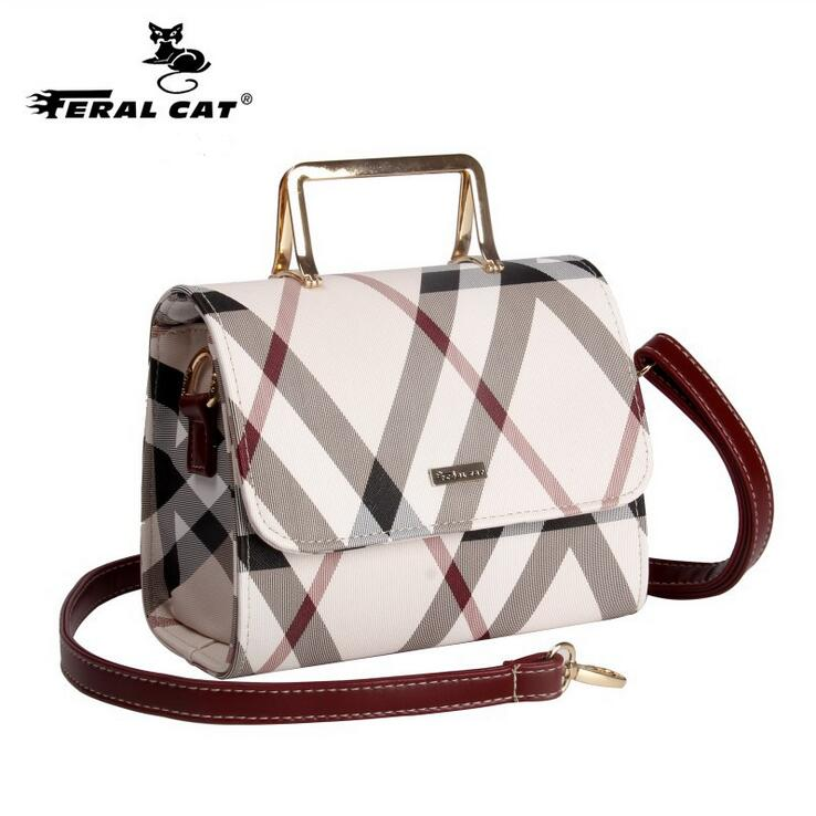 FERAL CAT 2018 New Designer Handbags High Quality Messenger Shoulder Luggage Luxury Doctor Bags Women Famous Brands Genuine feral cat luxury handbags women bags famous designer leather high quality girl shoulder bags female crossbody messenger bag