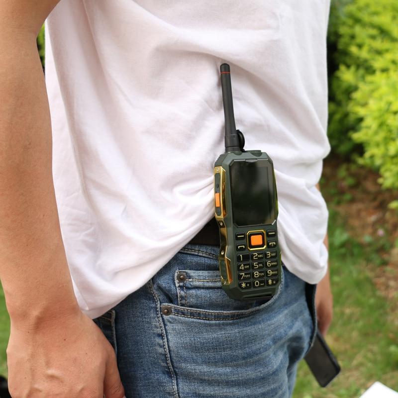 MAFAM M2 Ruso Árabe 4000mAh Tarjetas Dual SIM UHF Walkie Talkie - Teléfonos móviles - foto 5