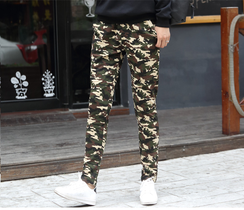 2017 Spring Summer Women Camouflage Strsight Pants Plus size Thin Costume wear Big size Colorful harem Hip Hop Dance Pants 1