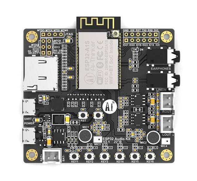 ESP32 Aduio Kit WiFi+ Bluetooth module ESP32 serial to WiFi / ESP32 Aduio Kit audio development board with ESP32 A1S