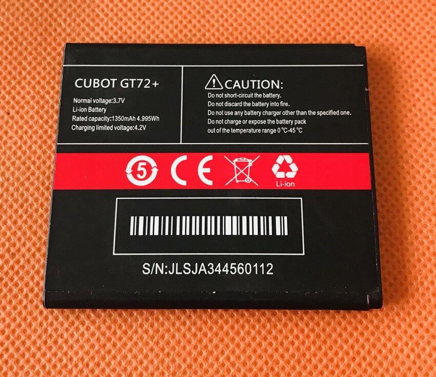 Original 1350mAh battery Batterie Batterij Bateria For Cubot GT72+ MTK6572 Dual Core 4.0 800x480