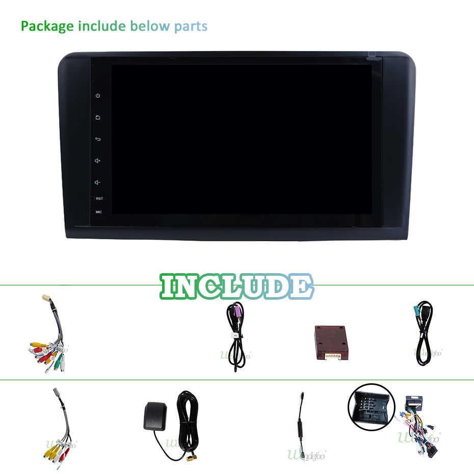 DSP アンドロイド 9.0 4 グラム 64 グラム 8 コアカーラジオ Gps 用メルセデスベンツミリリットル GL W164 ML350 ML500 GL320 ステレオナビゲーション IPS スクリーン NO DVD
