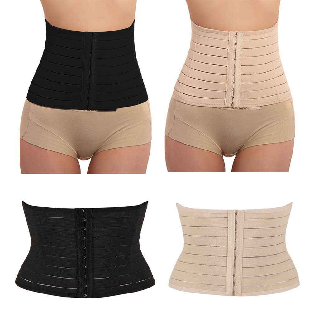 JAYCOSIN Women Cummerbunds Breathable Waist Girdle Sport Body Shaper Corset Solid Training Trainer Belt April4 P30