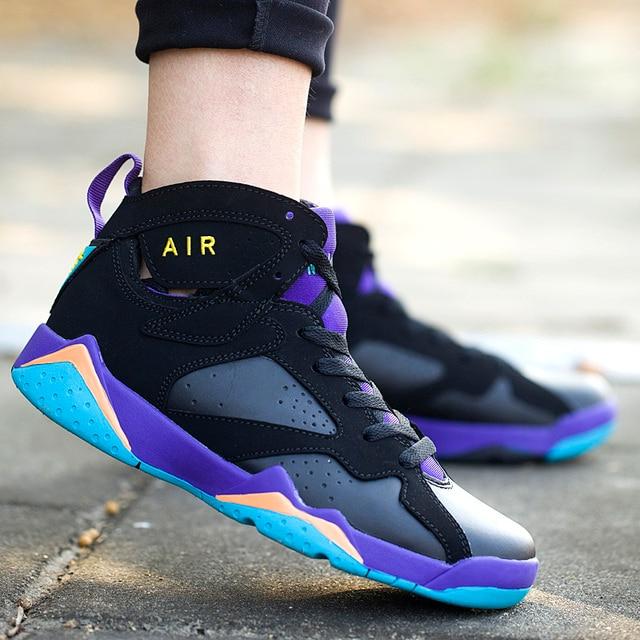 d3e927fb181 Autumn basketball shoes female high wear-resistant sport casual shoes male  fashion culture shoes lovers basketball shoes